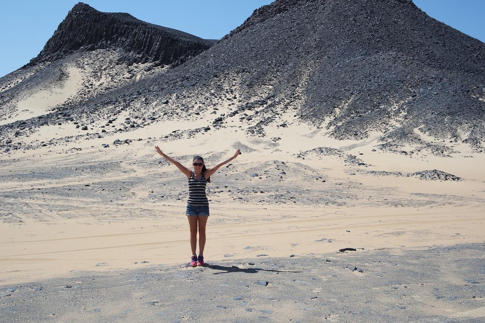 saara egito deserto preto