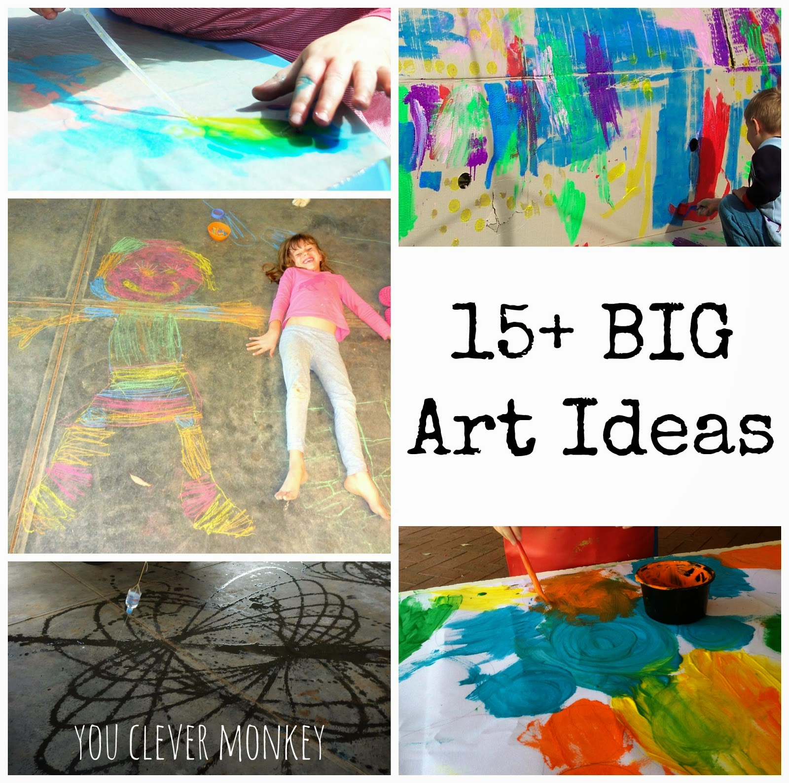 BIG Art 15 Ideas For Projects You Clever Monkey