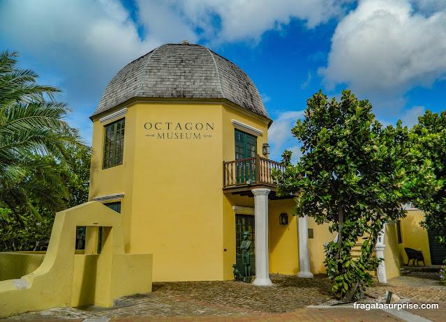 Octagon, casa de Simón Bolívar em Curaçao