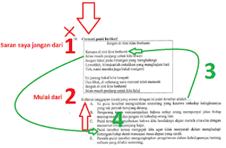 Trik Mengerjakan Soal Ujian Nasional Bahasa Indonesia