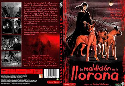 Carátula dvd: La maldición de la Llorona (1963)