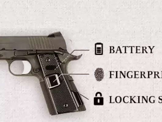 New intelligent gun will only fire when it recognizes an authorized fingerprint