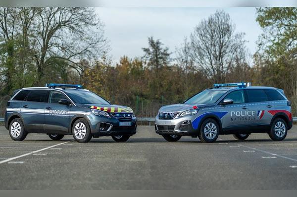 La police et la gendarmerie vont recevoir près de 1300 SUV Peugeot 5008