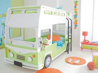 habitación infantil tema autos