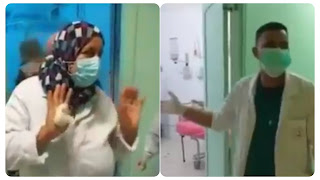 بالفيديو خطير جدا / وضع كارثي بمركز الايواء المرضى الكوفيد و اعوان صحة  فقدوا السيطرة و يوجهون نداء استغاثة والادارة الجهوية لا حياة لمن تنادي