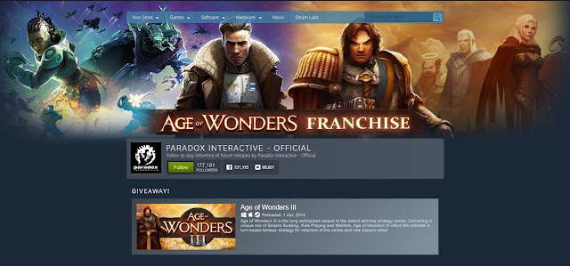 Acara penjualan franchise Age of Wonders di Steam - Tech Hijau™