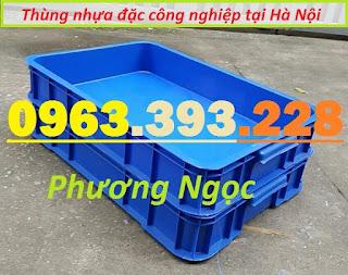Thùng nhựa đặc HS025, thùng nhựa công nghiệp,sóng nhựa bít HS025 T%25C4%25902