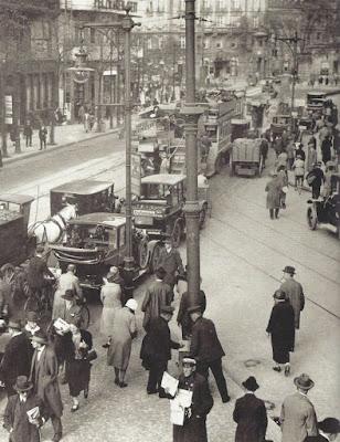Photo Berlin street 1929