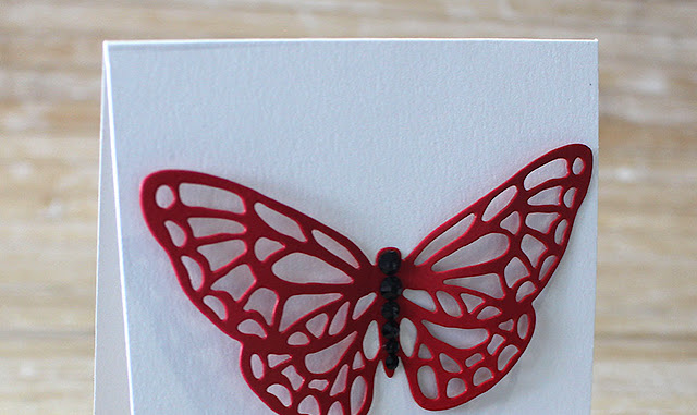 Red butterfly- happy birthday!