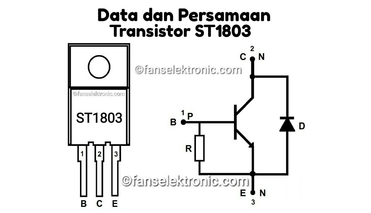 Persamaan Transistor ST1803