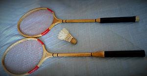 Raquetas Bádminton Antiguas