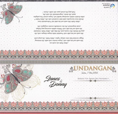 Download Template Blanko Undangan MZ Thara 003