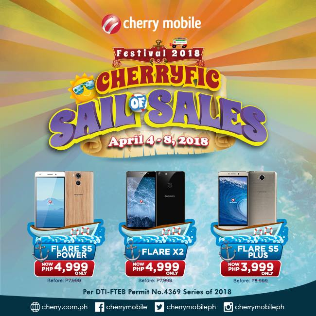 Cherry Mobile Flare X2 Drops Price to Php4,999!