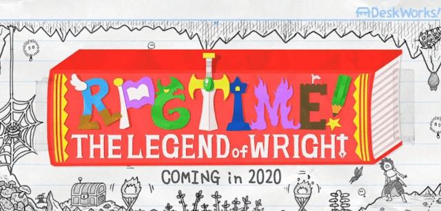 RPG Time: The Legend of Wright é uma aventura com visual desenhado a lápis