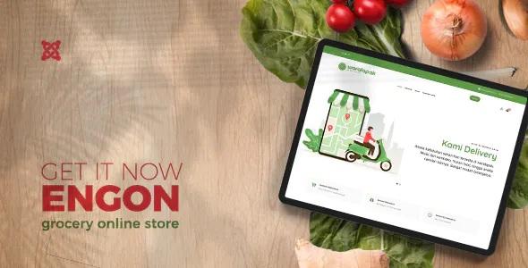 Best Grocery Online Store Joomla Templates