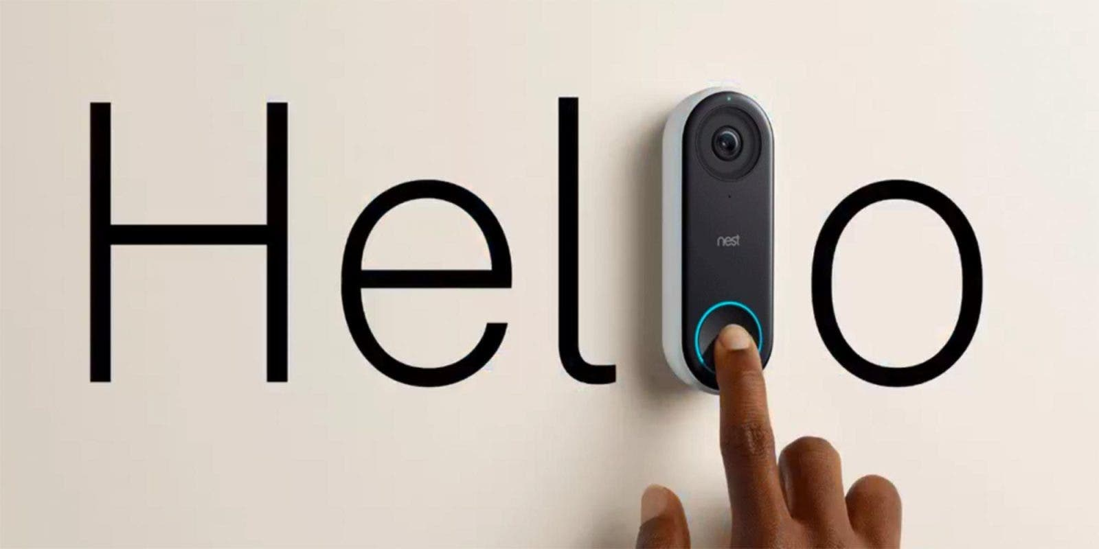 Google Home 2.35 shows a modern doorbell-shaped gadget that could be used as a security system. Successor to Nest Hello