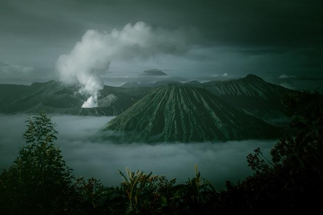 landscape gunung bromo indonesia