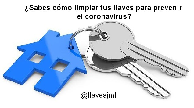 ¿Cómo limpiar tus llaves para prevenir el coronavirus?