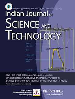 IJST - Indian Journal of Science and Technology
