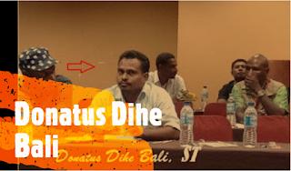 Donatus Dihe Bali Alumni Tauboria, Calon Bupati Flores Timur