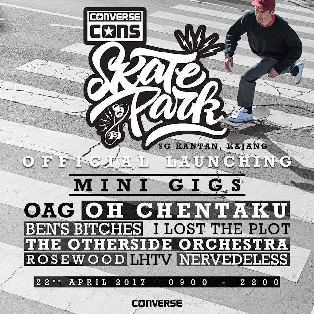 Converse Skatepark Launches In Kajang