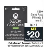 Xbox 3-Month Game Pass