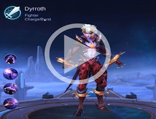 Dyrroth new Mobile Legends Hero – Price, Skills and Abilities