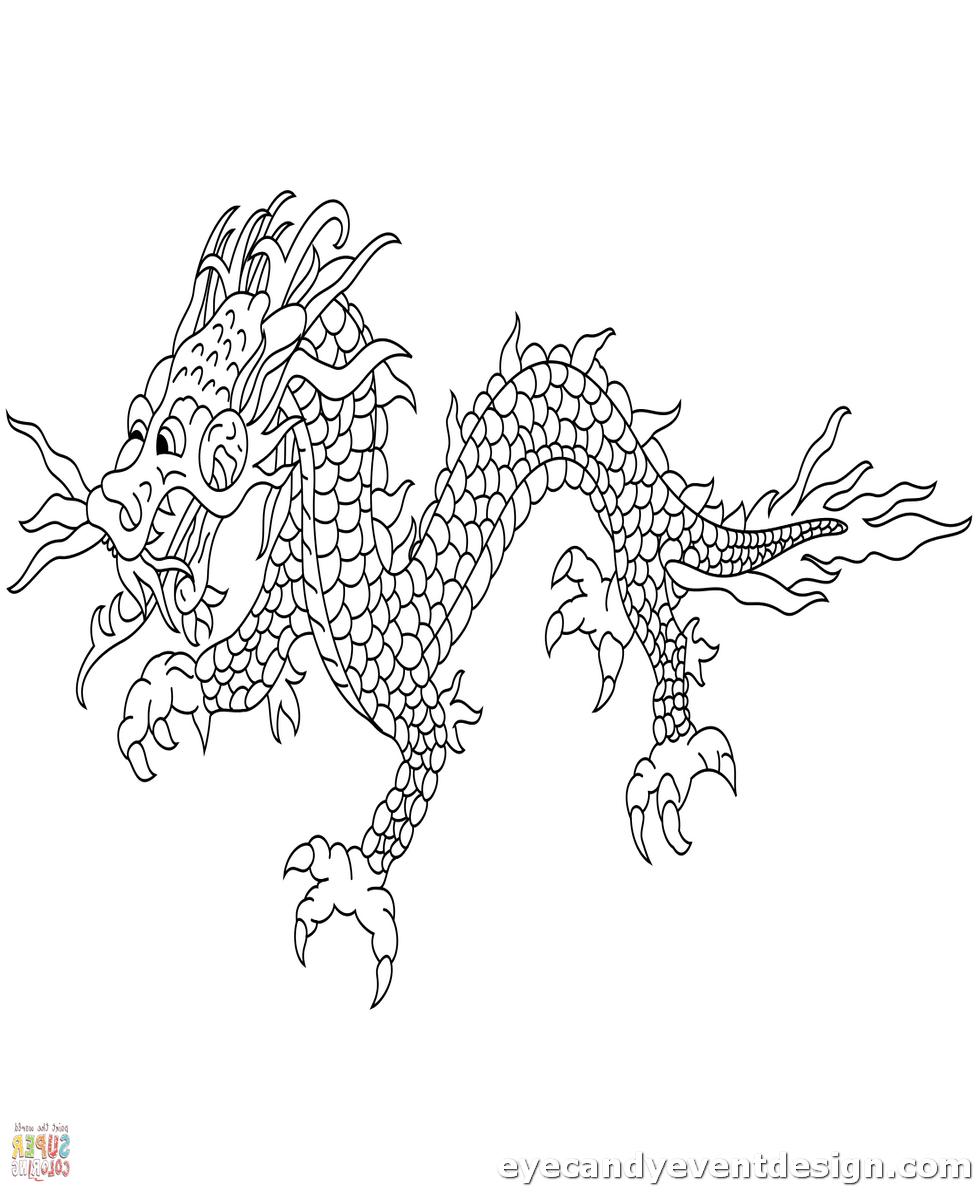 Drachen Malvorlagen