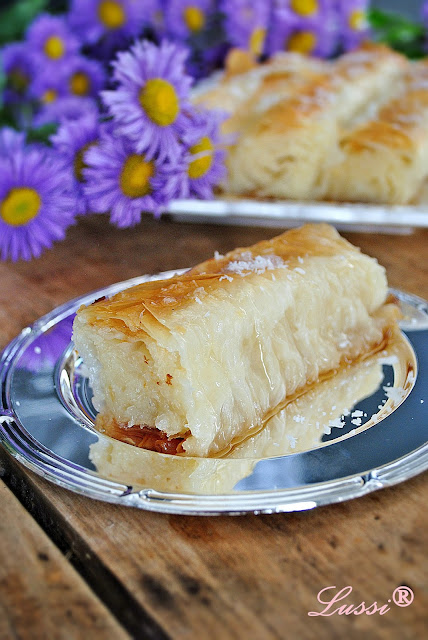 Сиропирана баница с кокос / Coconut and Syrup Banitsa