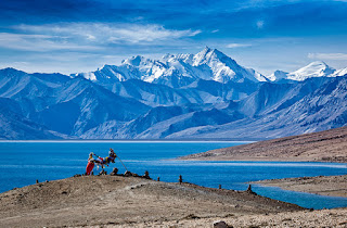 Places to visit in Jammu and kashmir ( Tso morriri lake   )