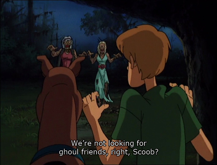 Cinamatic Stills: Scooby Doo on Zombie Island, Hiroshi