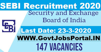 SEBI Recruitment 2020