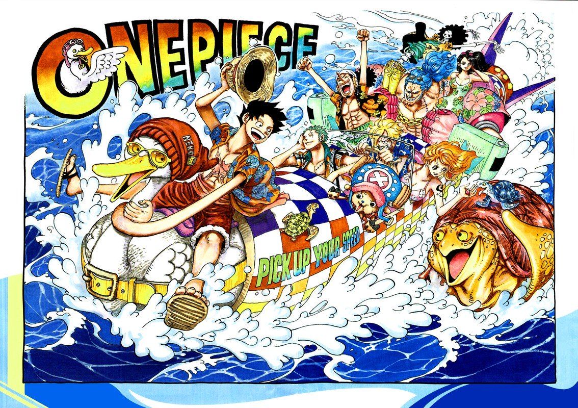 One Piece Manga Chapter 957 - Image 002