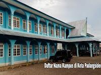 7+ Kampus Terbaik di Kota Padangsidempuan