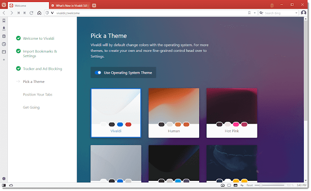 تحميل متصفح فيفالدي Vivaldi عملاق التصفح المميز احدث اصدار 64/32 بت