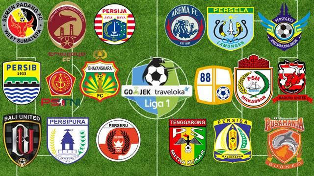 GO-JEK Traveloka Liga 1 Indonesia 2017