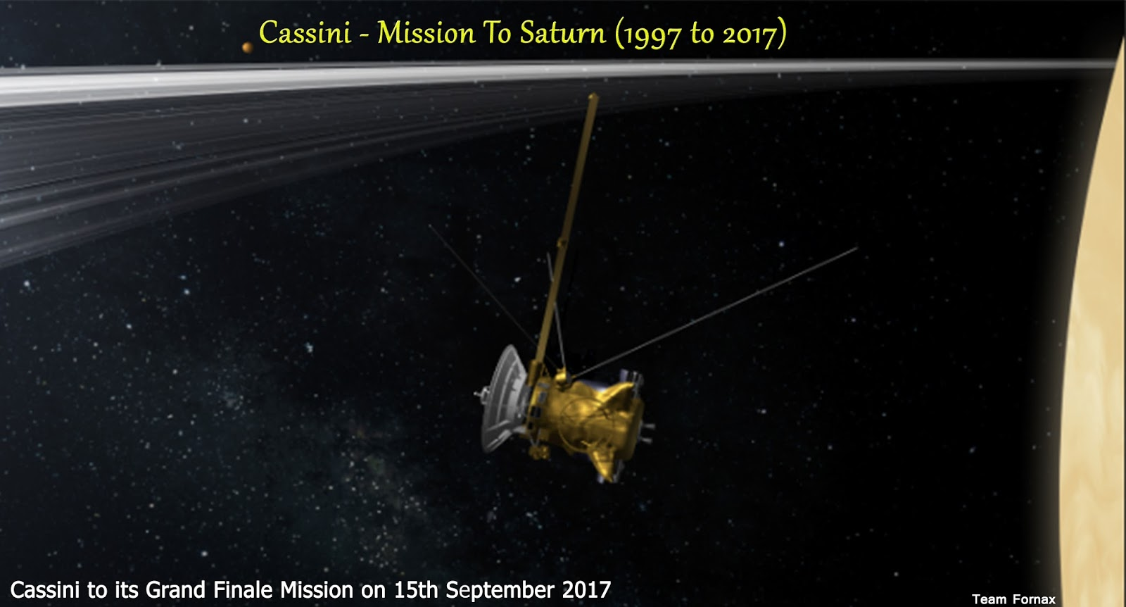 Cassini - End of Mission ~ Fornax Space Missions