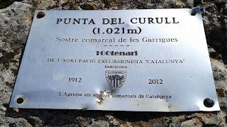 Punta del Curull (Sostre comarcal Garrigues)