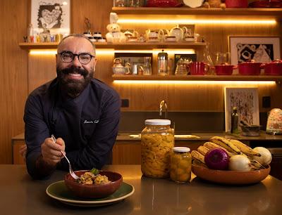 O chef Renato Caleffi  apresenta O Alimento Perfeito (Divulgação)