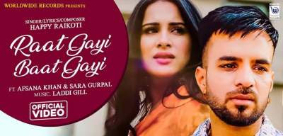 Raat Gayi Baat Gayi Lyrics Happy Raikoti