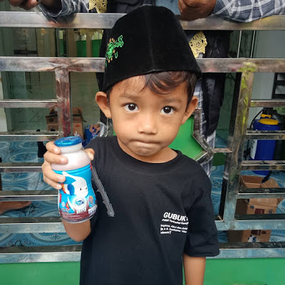 LKS Apik Mandiri Salurkan Nutrisi untuk Anak di Bandarlampung