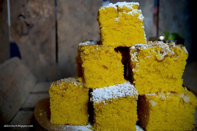 Dolce Rita Sfouf The Vegan Anise And Turmeric Semolina Cake