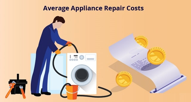 how much does appliance repair cost
