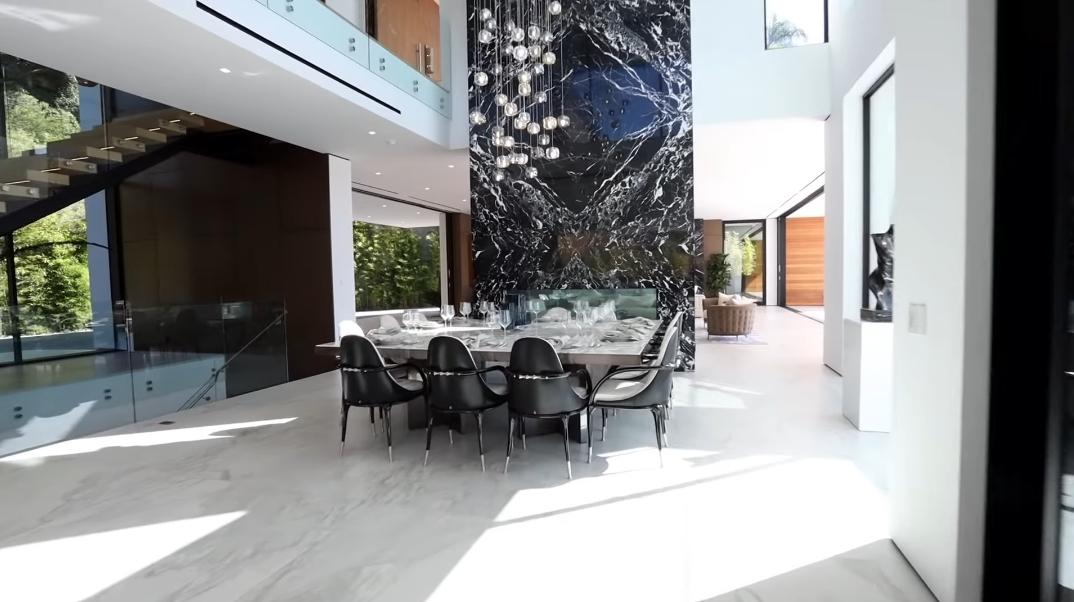 88 Interior Photos vs. Tour 1300 Beverly Estates Dr, Beverly Hills, CA Ultra Luxury Modern Mansion