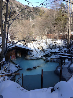 Shirahone Onsen snow
