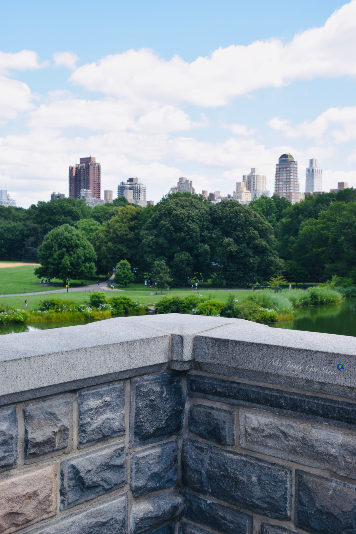 Turtle Pond and Belvedere Castle are two must-see spots to visit in Central Park, New York | Ms. Toody Goo Shoes