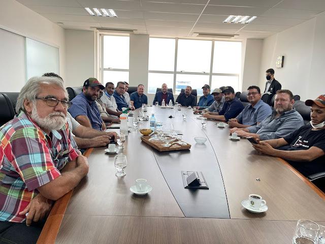 Presidente Alex Redano se reúne com produtores rurais da região da reserva Soldado da Borracha