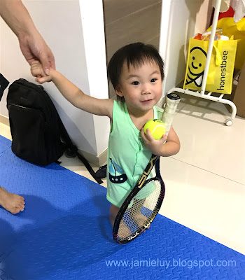 Toddler Tennis Racket and Ball