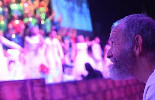 Pastor David Htcher vendo o Sonho de Natal, na NIB