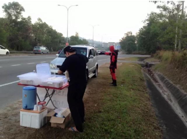 Deadpool Kota Kinabalu, Sabah Tarik Perhatian - blogmazeer.com-1